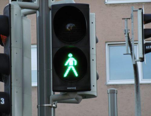Kinder- und Jugendtreff Mooskito: Ampel Dachauer Straße/Ecke Leipziger Straße
