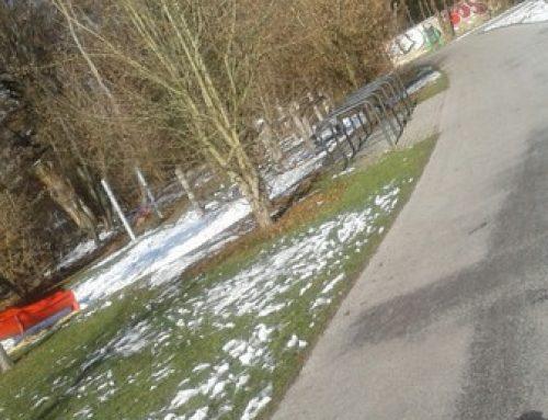 Freizeitstätte Hirschgarten: Keine Beleuchtung