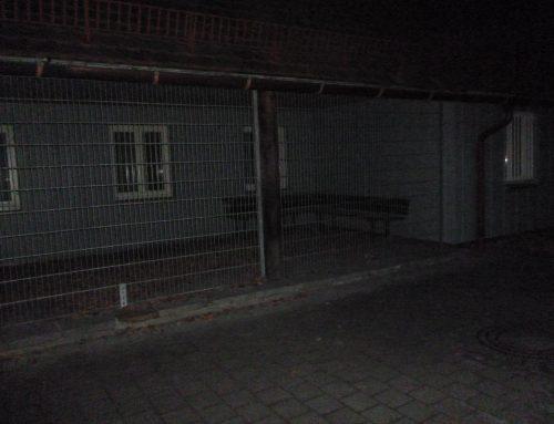 Freizeitstätte Hirschgarten: Sitzgelegenheit
