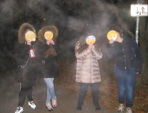 Jugendtreffpunkt Harthof: Park bei der Bernays-Schule