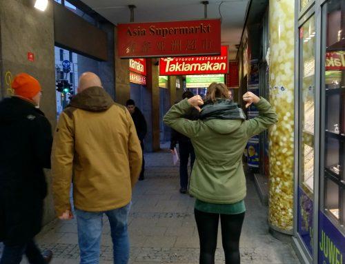 PSG Schulstamm München Au: Gehweg Nähe Hauptbahnhof